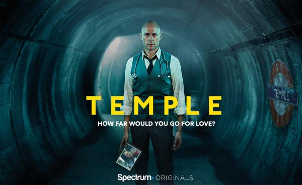 Spectrum Originals presents the Mark Strong-fronted crime drama, TEMPLE